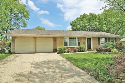 Schaumburg Single Family Home Price Change: 628 Boxwood Drive