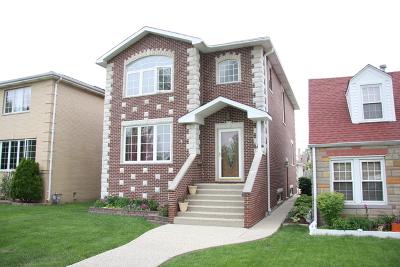Norridge Single Family Home For Sale: 4319 North Ozanam Avenue