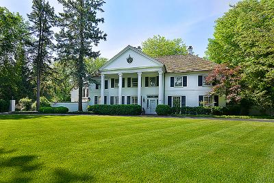 Winnetka Single Family Home For Sale: 1 Woodley Road