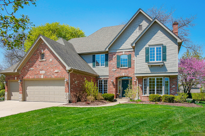 Wheaton Single Family Home For Sale: 26w248 Arrow Glen Court