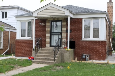 Calumet Park Single Family Home For Sale: 12612 South Laflin Street