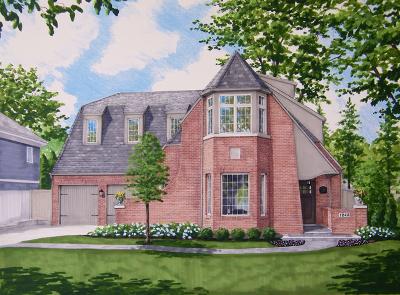 Winnetka Single Family Home For Sale: 1240 Asbury Avenue