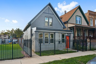 Chicago Single Family Home For Sale: 1516 North Ridgeway Avenue