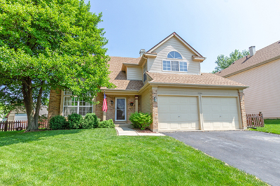 Bartlett Single Family Home Contingent: 1704 Penny Court