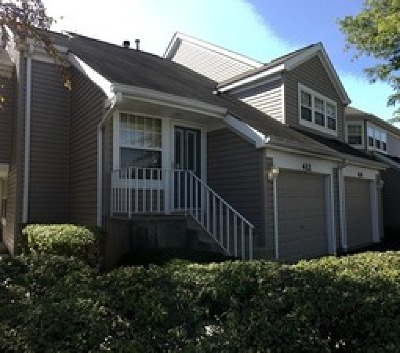 Carol Stream Condo/Townhouse Contingent: 412 Waterford Court #412