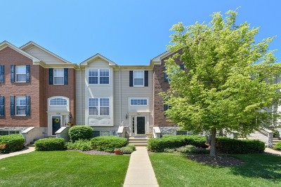 Bartlett Condo/Townhouse For Sale: 740 Thornbury Court