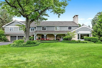 Wilmette Single Family Home For Sale: 2800 Romona Court