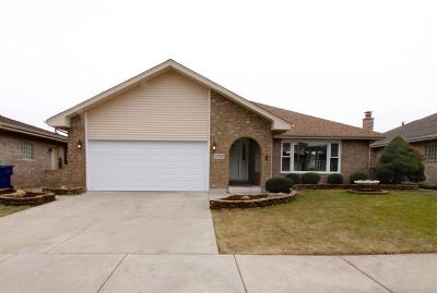 Oak Lawn Single Family Home Price Change: 10705 Linder Avenue