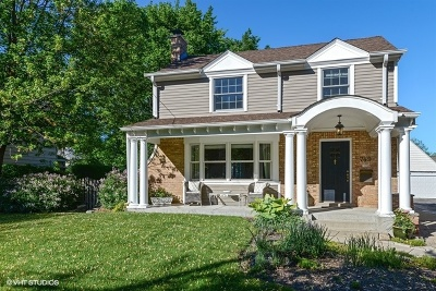 Highland Park Single Family Home For Sale: 749 Broadview Avenue