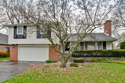 Wilmette Single Family Home For Sale: 2609 Greenleaf Avenue