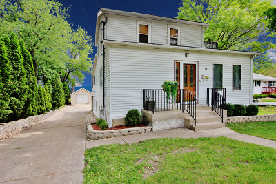 Fox Lake Single Family Home For Sale: 158 East Grand Avenue