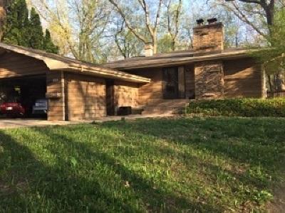 Carpentersville Single Family Home For Sale: 838 Greenwood Avenue
