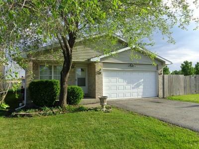 Sauk Village Single Family Home Contingent: 1664 Carolina Drive