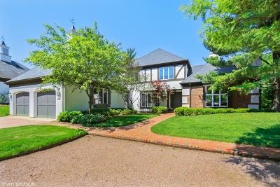 Burr Ridge Single Family Home For Sale: 603 Burr Ridge Club