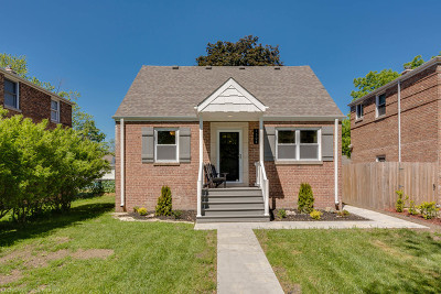 Calumet City  Single Family Home For Sale: 1508 Kenilworth Drive