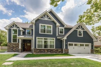 Wilmette Single Family Home Price Change: 3219 Illinois Road