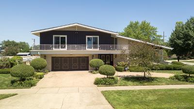 Oak Lawn Single Family Home Price Change: 9736 South Kilbourn Avenue