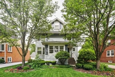 La Grange Single Family Home For Sale: 92 North Edgewood Avenue