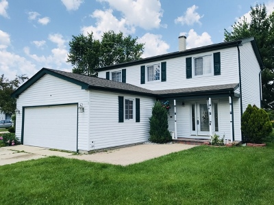 Streamwood Single Family Home Contingent: 6 Woodmar Court
