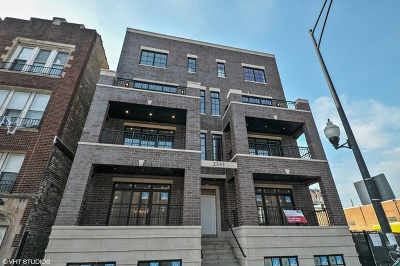 Roscoe Village Condo/Townhouse For Sale: 2341 West Roscoe Street #1W