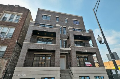 Roscoe Village Condo/Townhouse For Sale: 2341 West Roscoe Street #3W