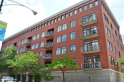 Condo/Townhouse For Sale: 1155 West Armitage Avenue #309
