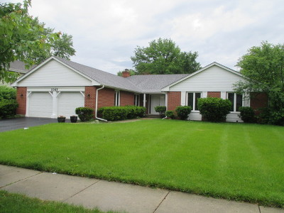 Palatine Single Family Home For Sale: 1067 West Hunting Drive