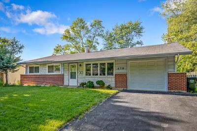Hoffman Estates Single Family Home For Sale: 470 Northview Lane