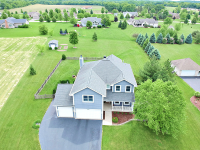 Spring Grove Single Family Home Price Change: 8410 Squirrel Drive