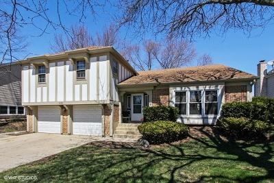 Hoffman Estates Single Family Home For Sale: 1290 Dorchester Lane