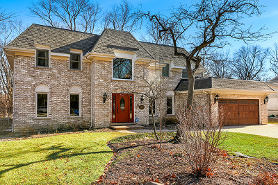 Highland Park Single Family Home For Sale: 857 Woodbine Road
