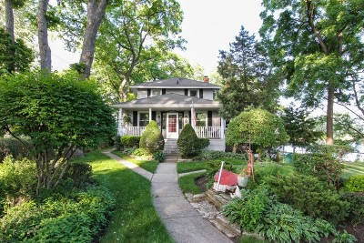 Antioch Single Family Home Price Change: 42675 North Woodbine Avenue