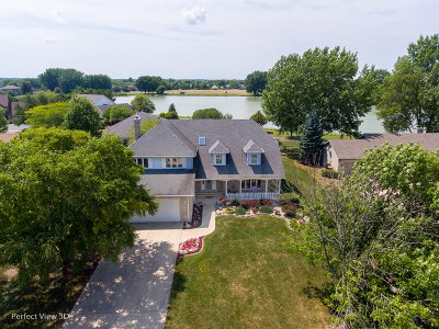 Carol Stream Single Family Home For Sale: 1216 Lakeside Lane