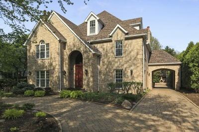 Hinsdale Single Family Home For Sale: 323 North Vine Street