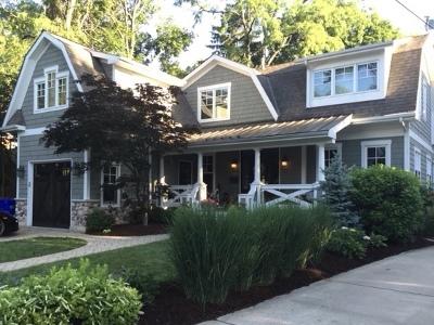 Glen Ellyn Single Family Home Price Change: 468 Hill Avenue