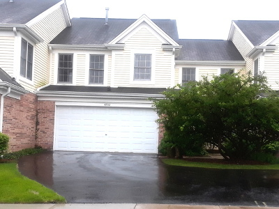 Hoffman Estates Condo/Townhouse For Sale: 4902 Turnberry Drive