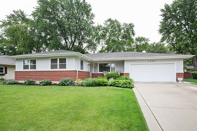 Elgin Single Family Home Price Change: 1807 Country Knoll Lane