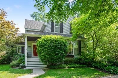 Wilmette Single Family Home For Sale: 1823 Walnut Avenue