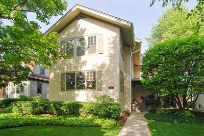 Oak Park Single Family Home Price Change: 842 North Elmwood Avenue
