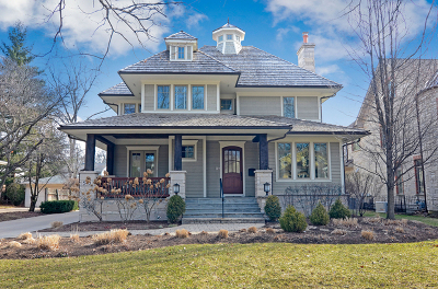 Hinsdale Single Family Home For Sale: 543 North Elm Street
