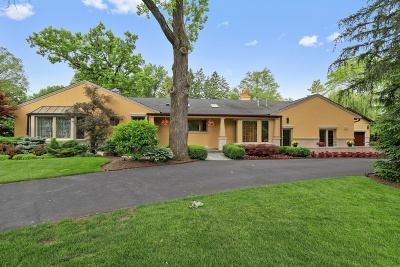 Lake Forest Single Family Home For Sale: 1122 Estate Lane