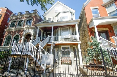 Multi Family Home For Sale: 1538 West George Street