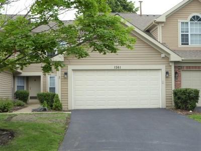 Carol Stream Condo/Townhouse For Sale: 1261 Lake Shore Drive