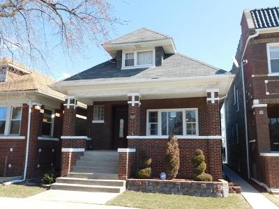 Cicero Single Family Home For Sale: 1927 South Austin Boulevard