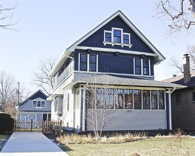 Oak Park Single Family Home For Sale: 1125 Wisconsin Avenue