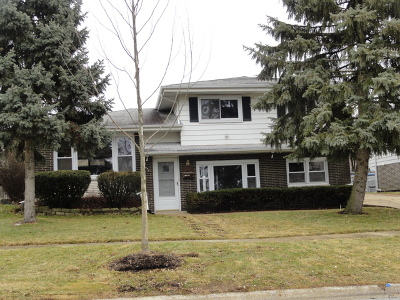 Tinley Park Single Family Home For Sale: 16321 South 66th Court