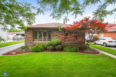 Alsip  Single Family Home For Sale: 12848 South Blossom Drive