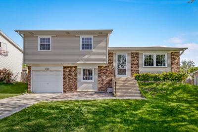 Hoffman Estates Single Family Home For Sale: 1680 Bicek Drive