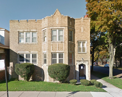 Chicago Multi Family Home For Sale: 107 West 80th Street