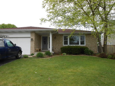 West Chicago Single Family Home Price Change: 2040 Cherokee Drive